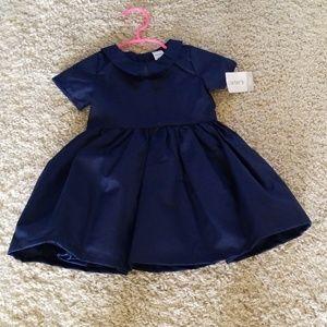 Navy baby skirt